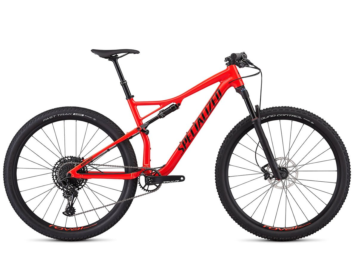 VTT semi-rigide SPECIALIZED EPIC Comp EVO Gloss Rocket Red/Tarmac Black 2019