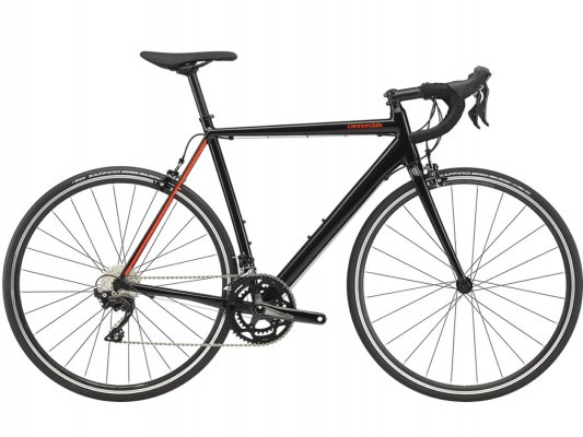 Vélo course CANNONDALE CAAD Optimo 105 Black Pearl 2020