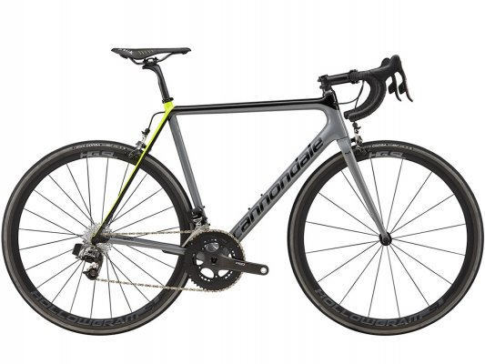 Vélo de course carbone CANNONDALE SuperSix EVO HM RED eTap 2018